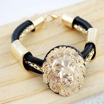 Characteristic Lion Head Shape Alloy Bracelet, AS THE PICTURE in Bracelets | DressLily.com