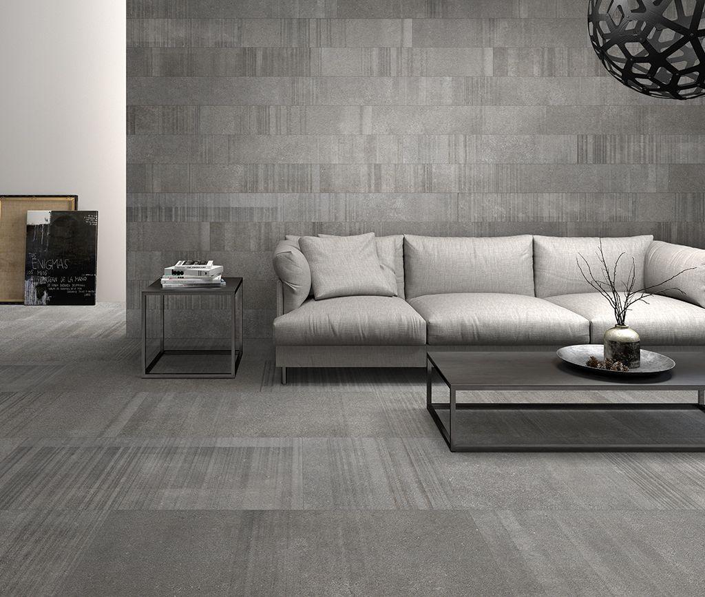 Napoli U. Stone Dark Grey on Floor and Wall. Salotti