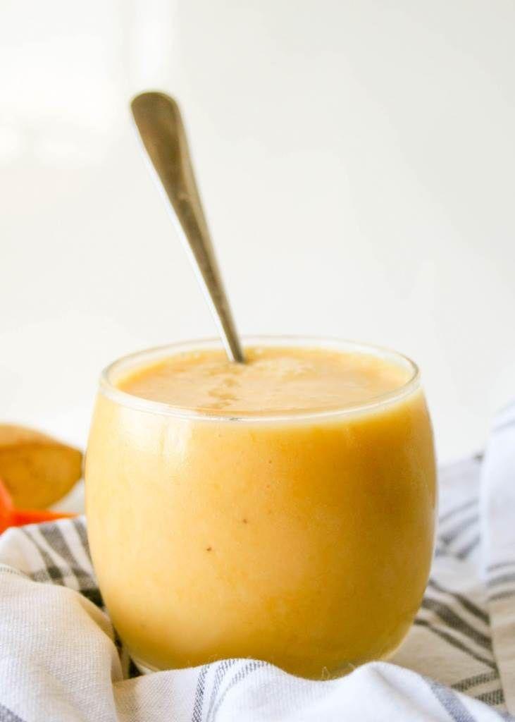 schneller Mango Bananen Smoothie   Bananen smoothie