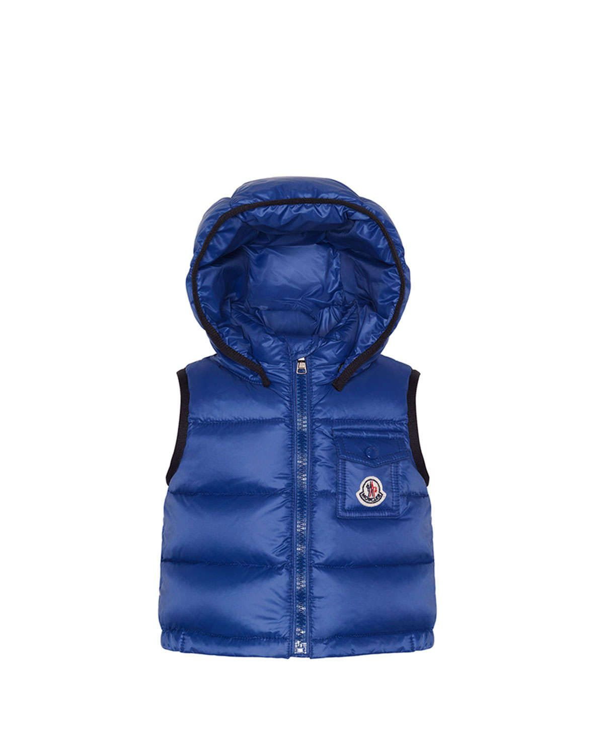 Brice Quilted Nylon Vest with Hood, Navy, 3M-3T | Products ... : quilted nylon vest - Adamdwight.com