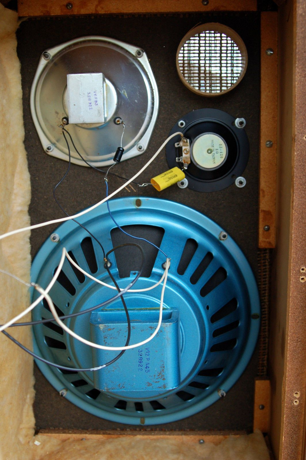 hight resolution of vintage utah wd 66 12 3 way speaker system 8 ohms 30 watts made in usa ebay