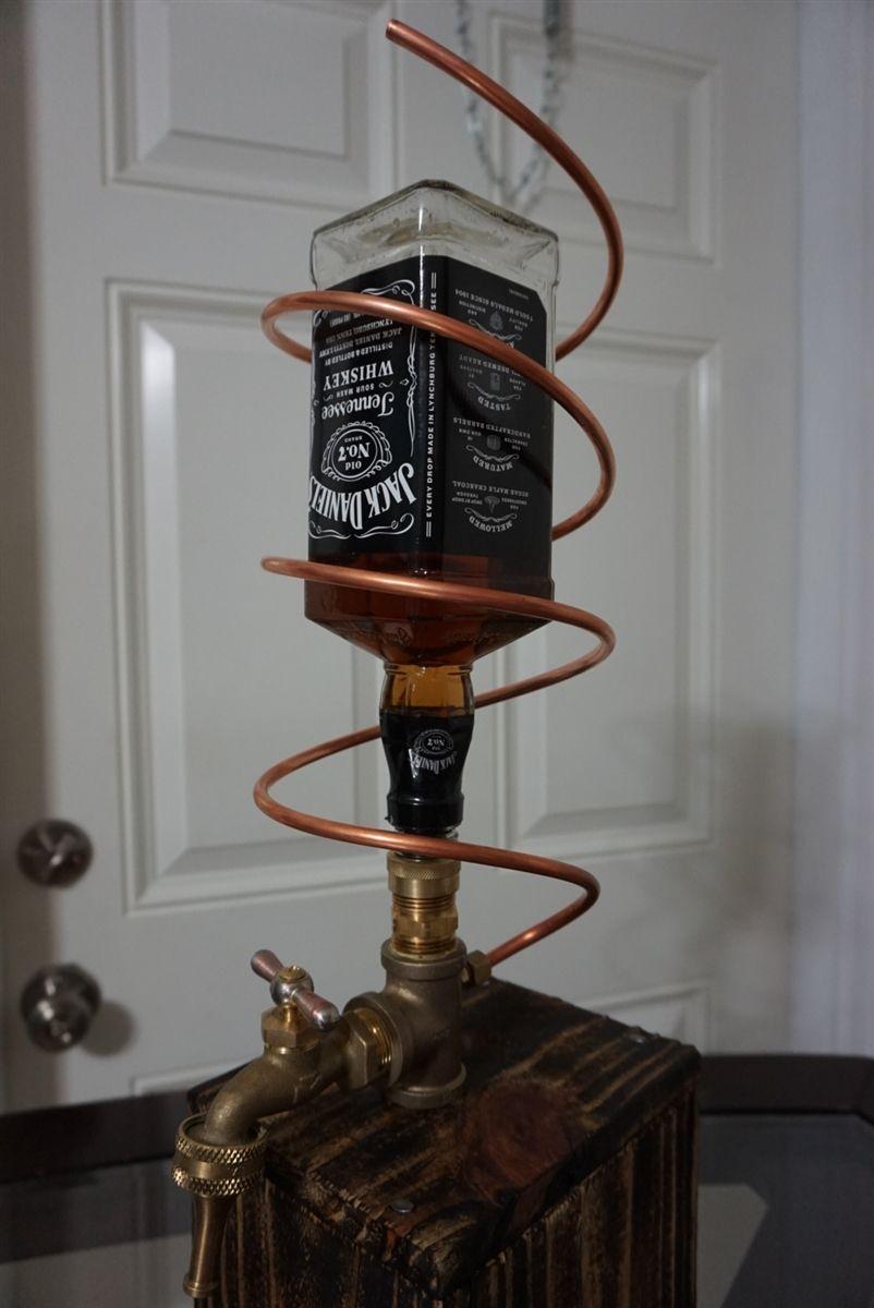 Jack Daniels Bottle Holder And Pourer Easy Craft Ideas