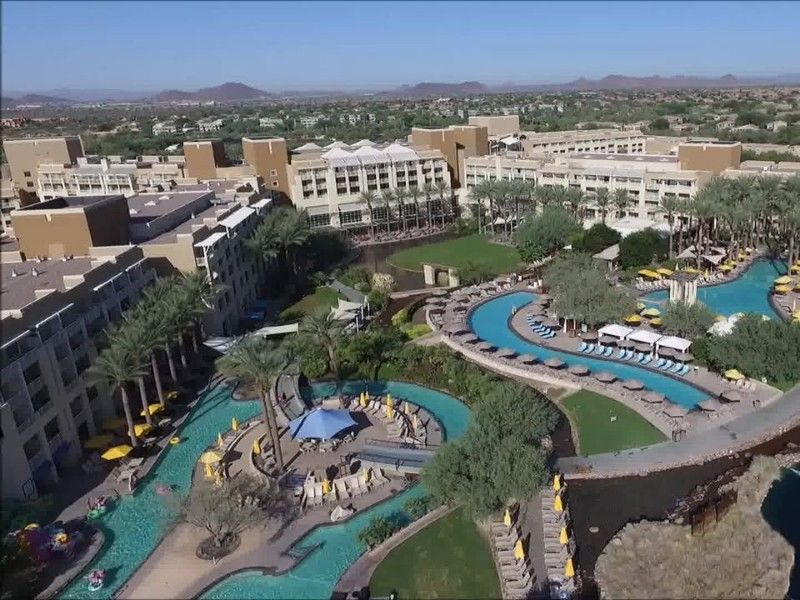 8 Lazy Rivers In Arizona Perfect For Floating Your Worries Away This Summer Resort Spa Aerial View Water Park