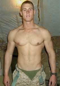 Hot naked army men