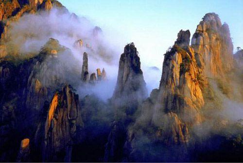 Resultado de imagem para Parque Nacional do Monte Sanqingshan
