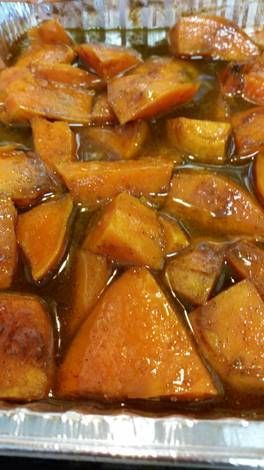 Southern baked candied yams Recipe by starplayer