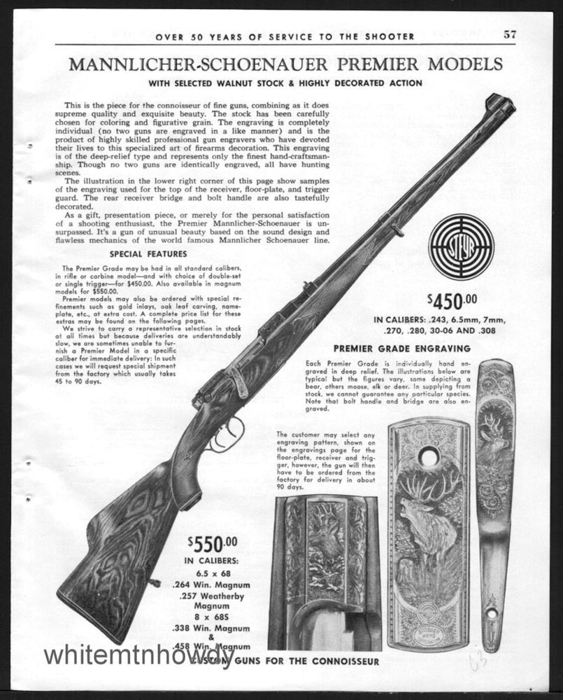 Ruger M77 Mark II Rifle Vintage AD reproduction metal sign 8 x 12