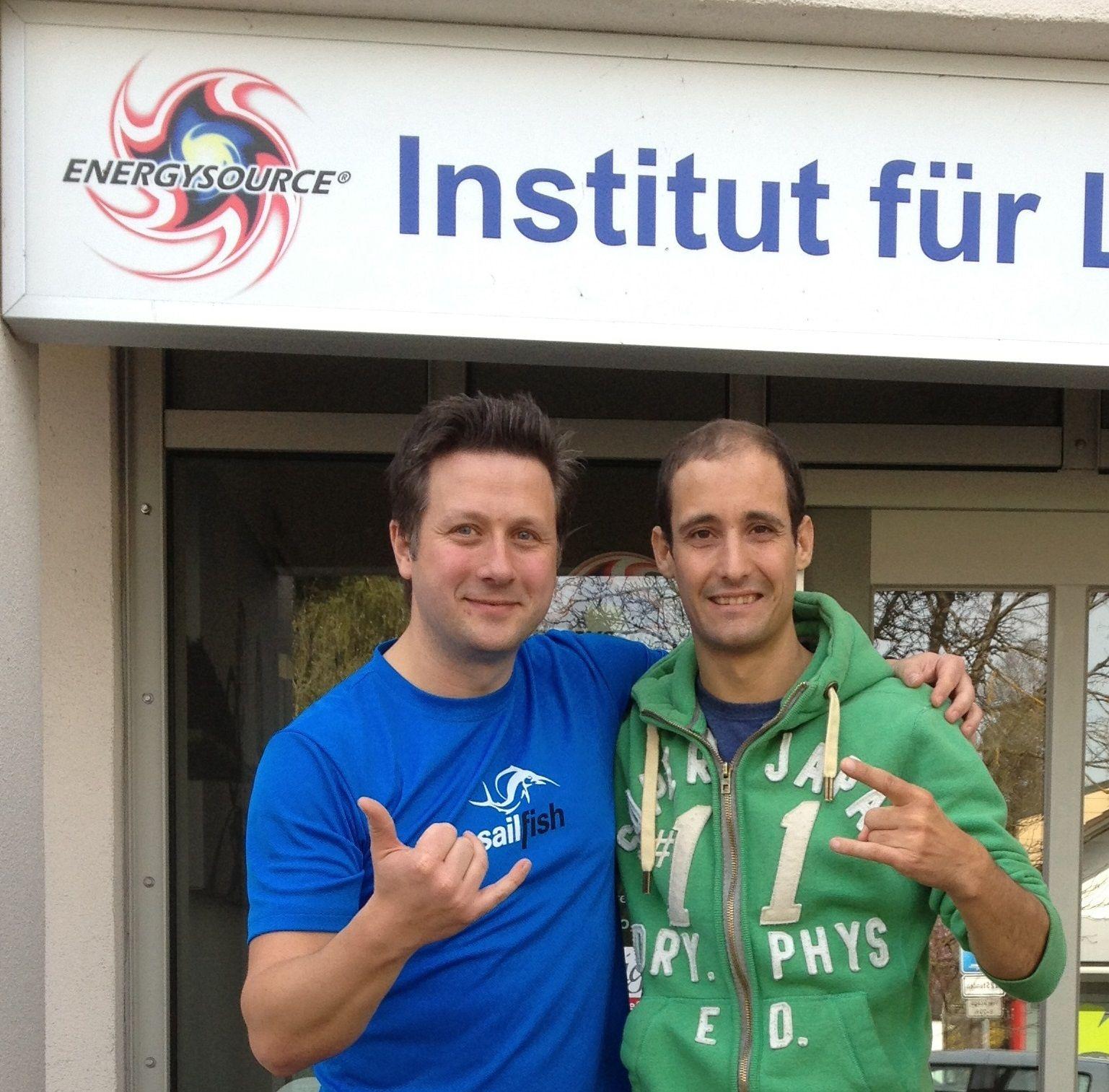 Marco trifft Christoph Näger - Geschäftsführer von Energysource - Institut für Leistungsdiagnostik (www.energysource.de)