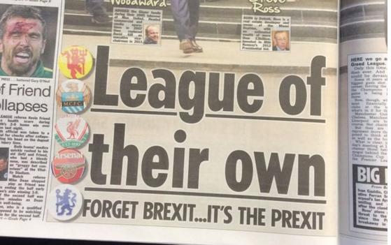 5 top Premier League clubs including Man United & Arsenal discuss European Super League [Sun]