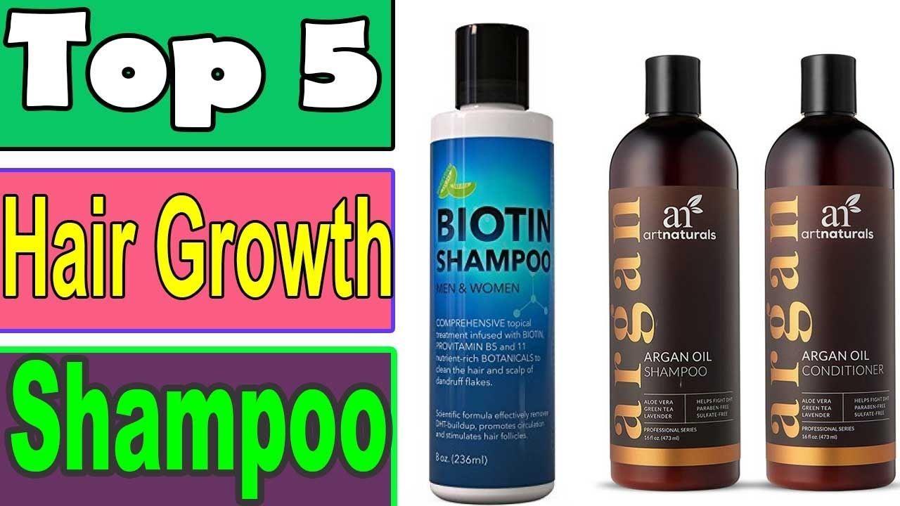 Top 5 5 Best Hair Growth Shampoo 2018 2019 For Men