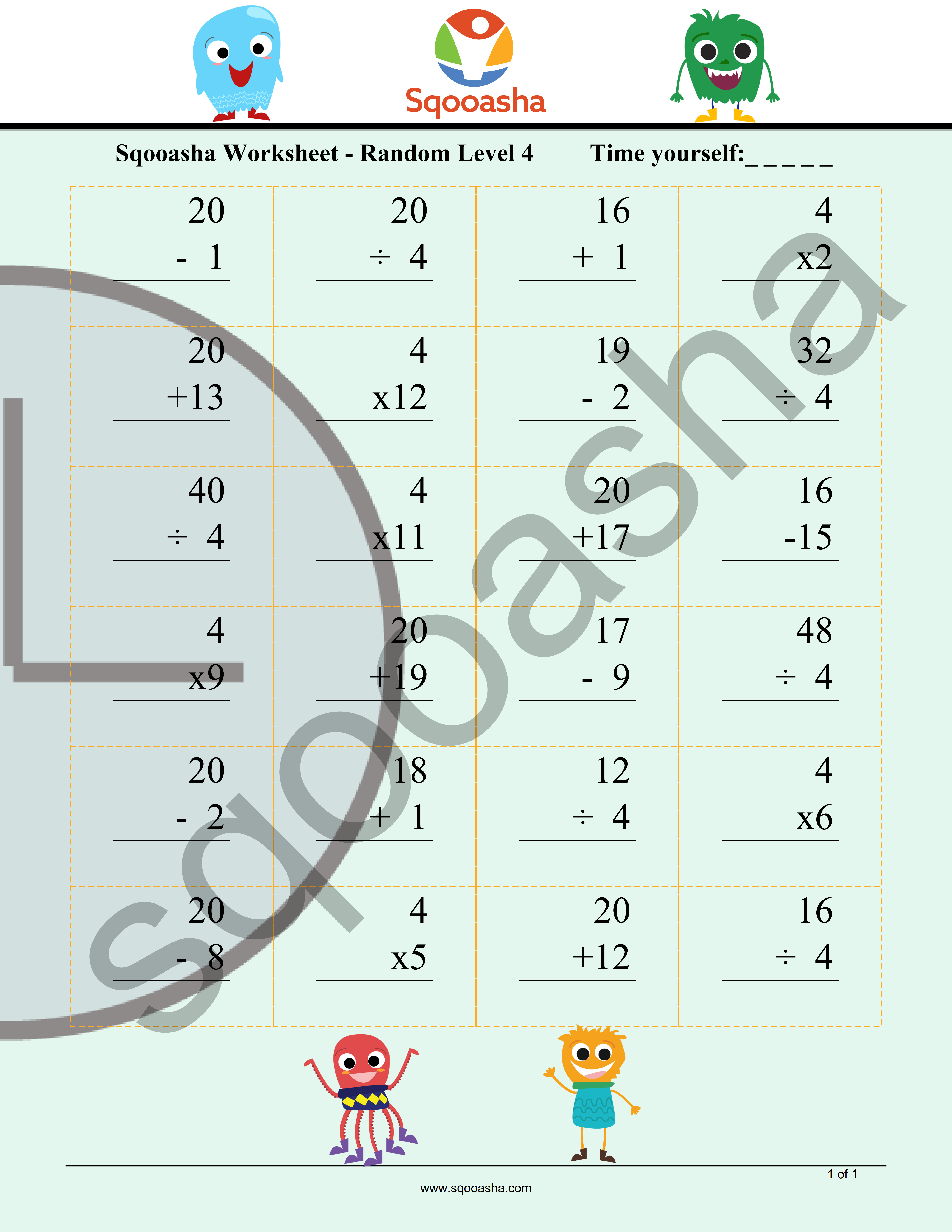 Cool Kids Math Worksheets To Get Your Elementary School