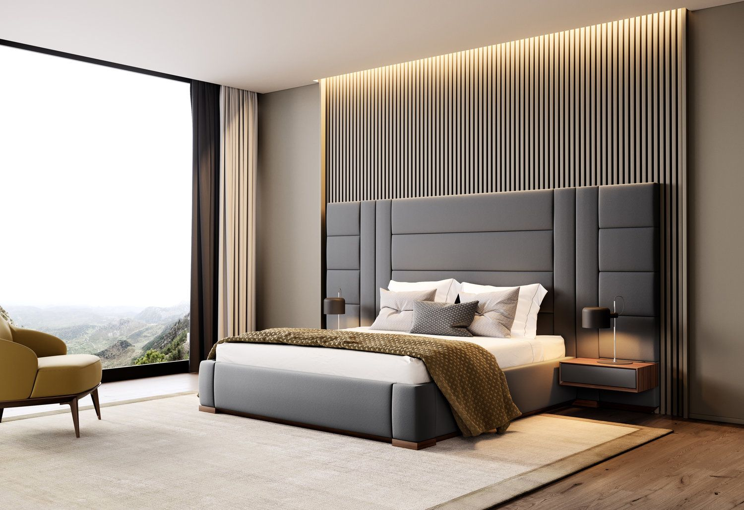 By Wehome Room Design Bedroom Luxury Bedroom Design Bed Back