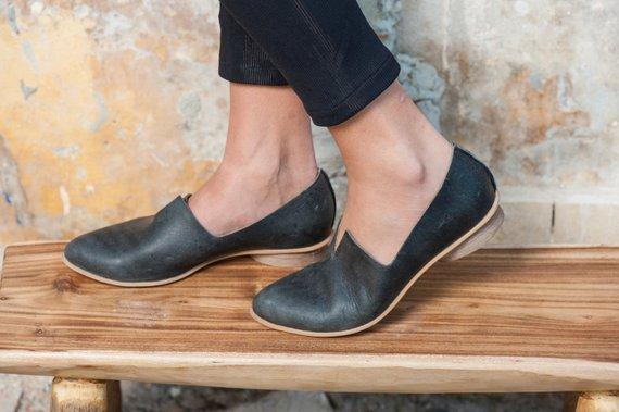 Women Leather Shoes, Women Flats
