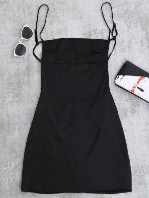 49f1ecc6eff Backless Mini Slip Dress - Black S