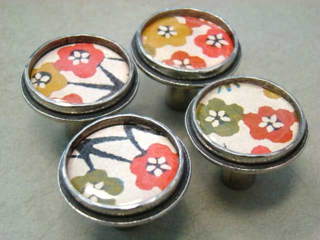 DIY Set of Six Drawer Pulls/Cabinet Knobs - Complete With Resin Inserts and  Foolproof