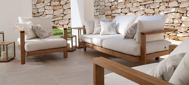 Tolle Holz Lounge Gartenmöbel