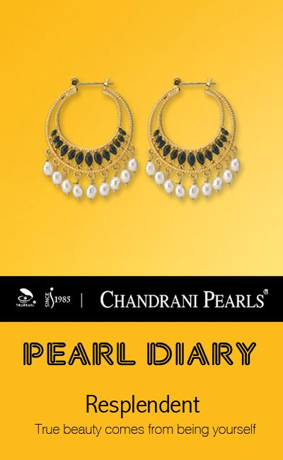 39fb94c3cda64 Beautiful #Chandrani pearls earrings | Him to her | Pearl earrings ...