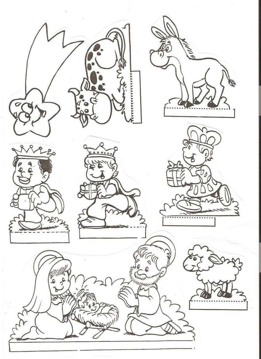 Dibunos Para Colorear Fotos Dibujos Nacimiento Y Estrella Dibujos