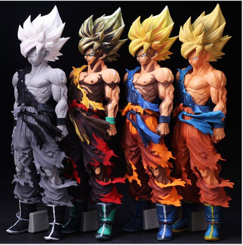 Click To Buy 34cm Dragon Ball Z Big Size Son Goku Super Saiyan Pvc Action Figure Collectible Mo Dragon Ball Action Figures Toys Action Figures Collection