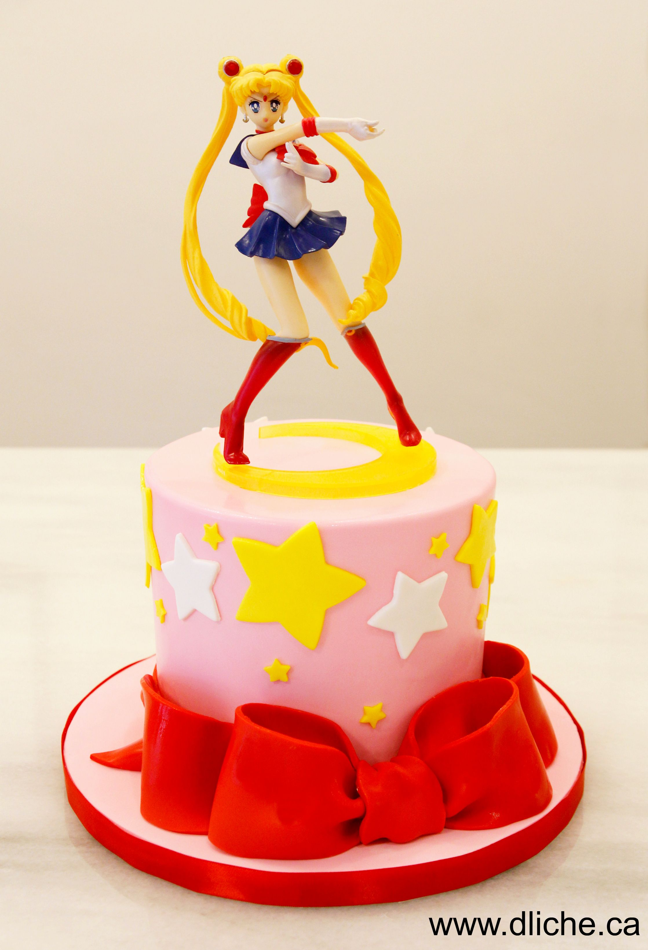Gâteau Sailor Moon - Sailor moon cake #mooncake