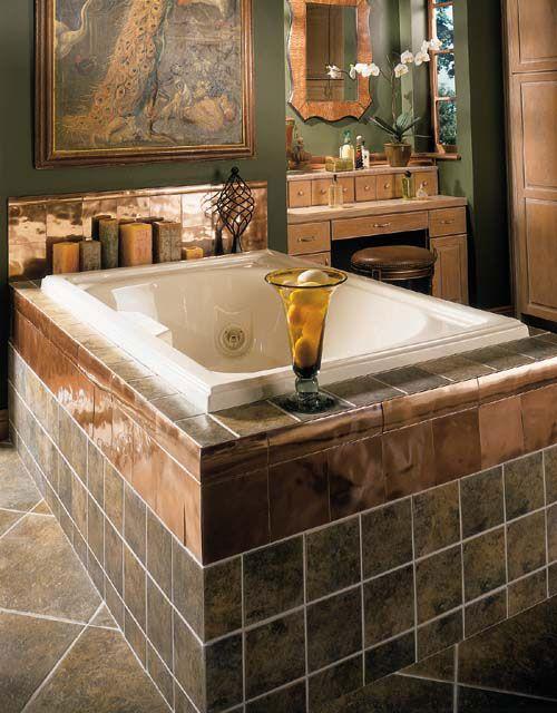 Roman Inspired Bathroom Happy Home Bathroom Tiles Images