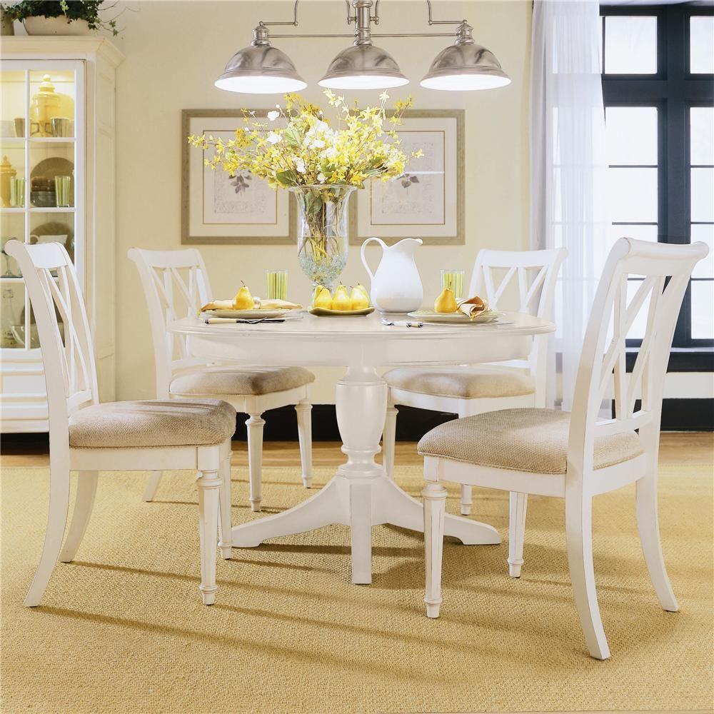 39++ White kitchen table round info