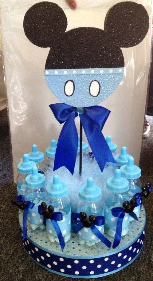 2b9f2d2ec Ideas para tu Fiesta  Ideas para baby shower con temática de Mickey bebé!