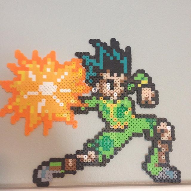 Hunter x Hunter perler beads by perler_bead101_