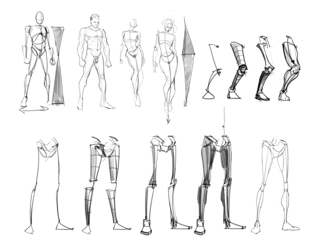 48 best Drawing Tips - The Leg images on Pinterest | Drawing tips ...
