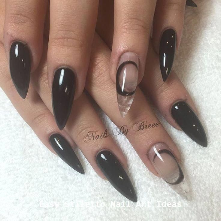 80 Ideas To Create The Best Halloween Nail Decoration In 2020 Witch Nails Goth Nails Gothic Nails