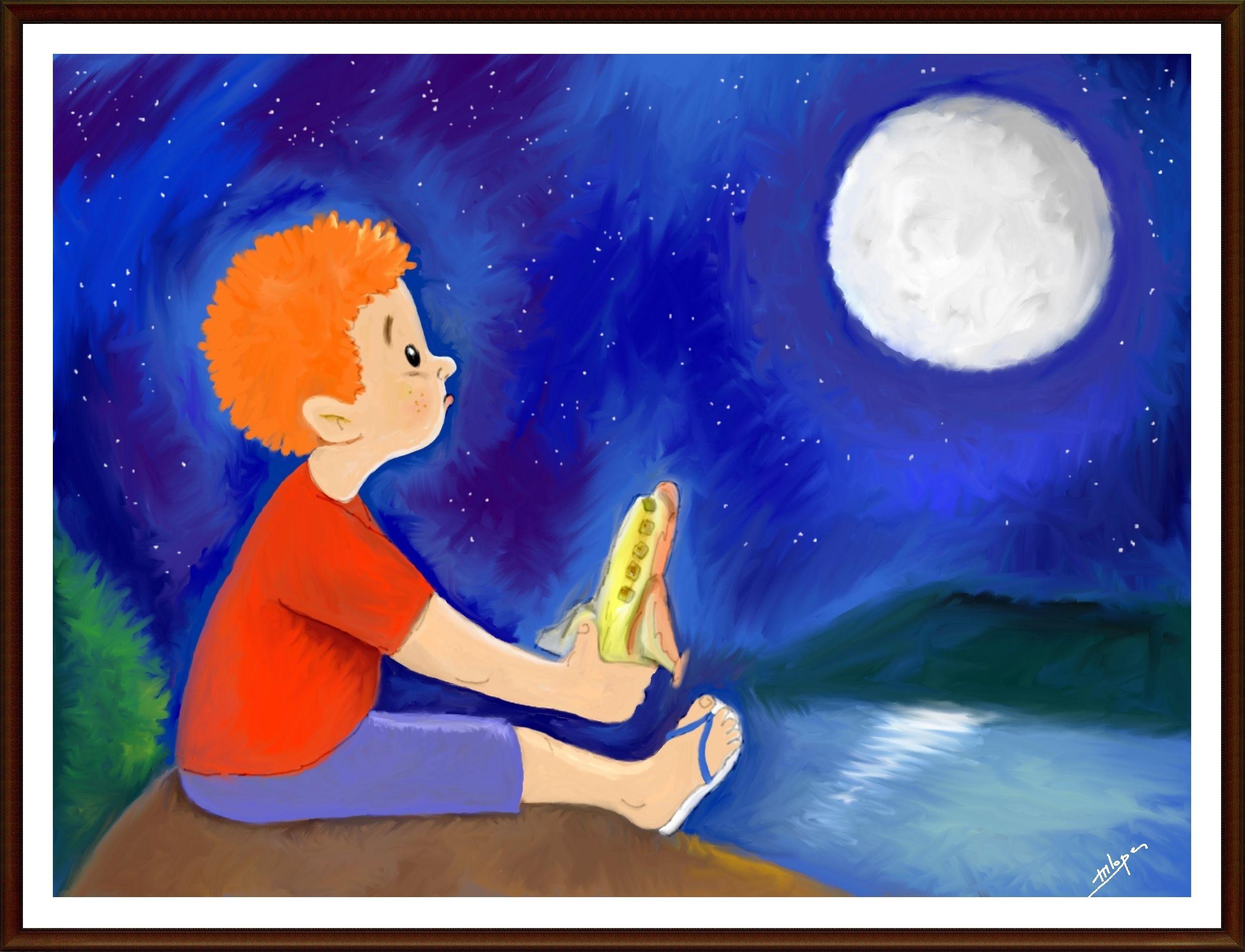 """Quadro """"Sonho de criança"""". Criação M2LOPES Encomendas de arte: m2lopes@hotmail.com"""