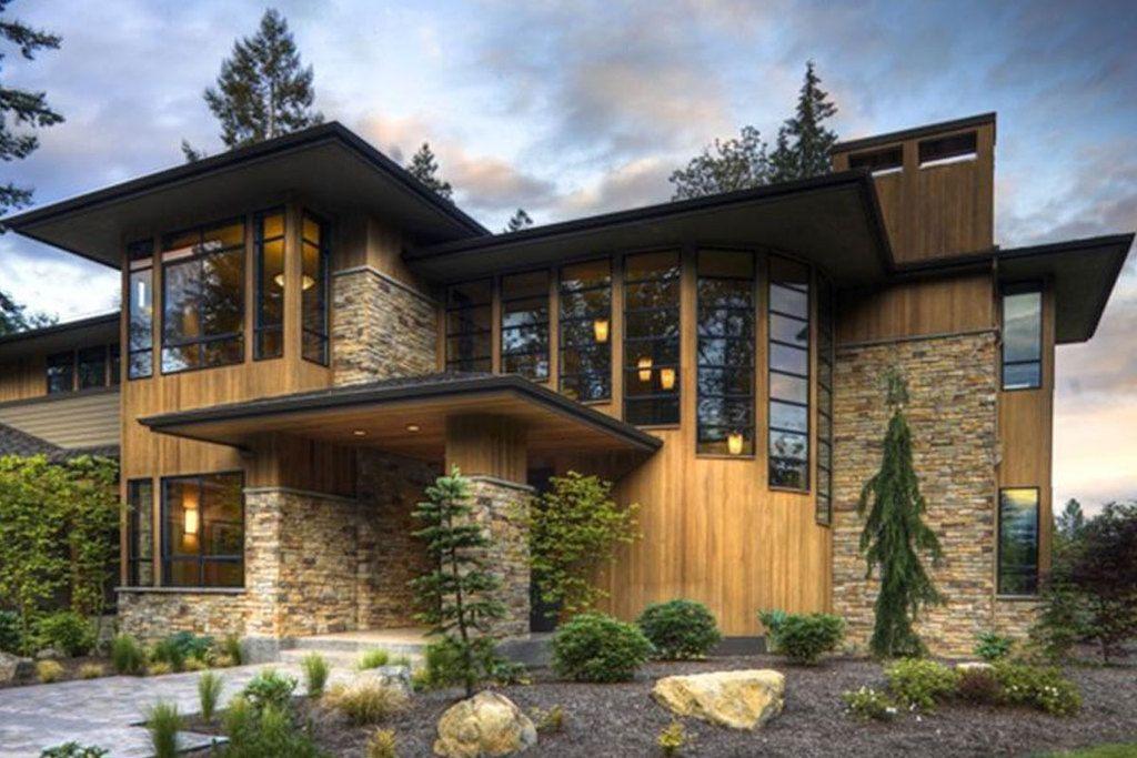 Modern Style House Plan 4 Beds 450 Baths 4750 SqFt Plan 132221