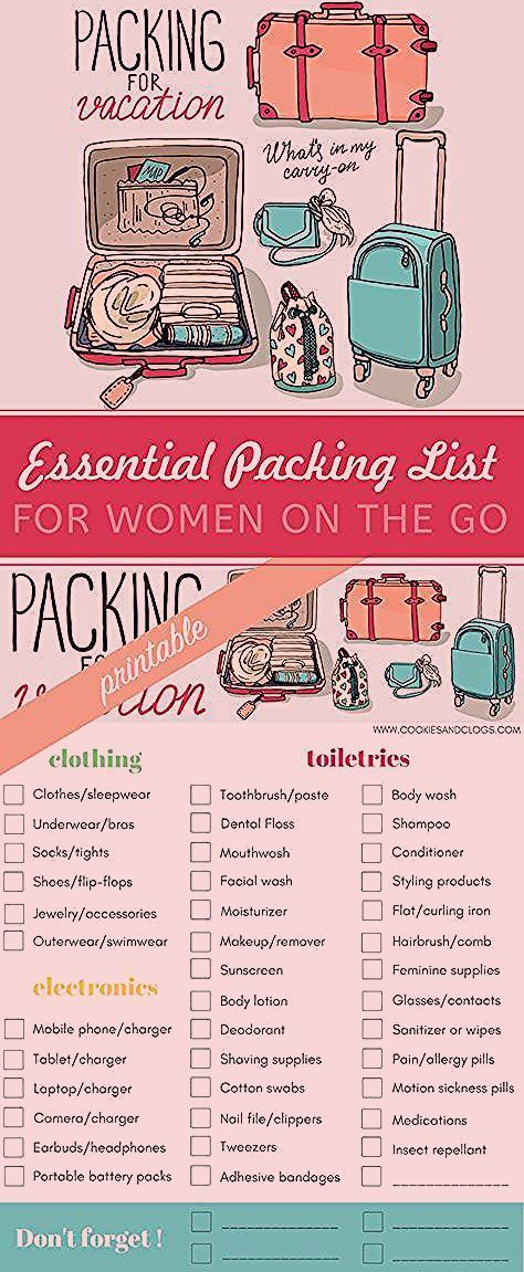 Photo of Making Travel Less Stressful: Essential Printable Packing List for Women