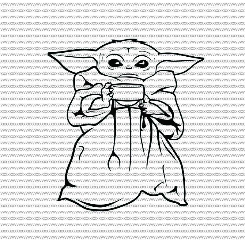 Baby Yoda Svg The Mandalorian The Child Baby Yoda Png Star