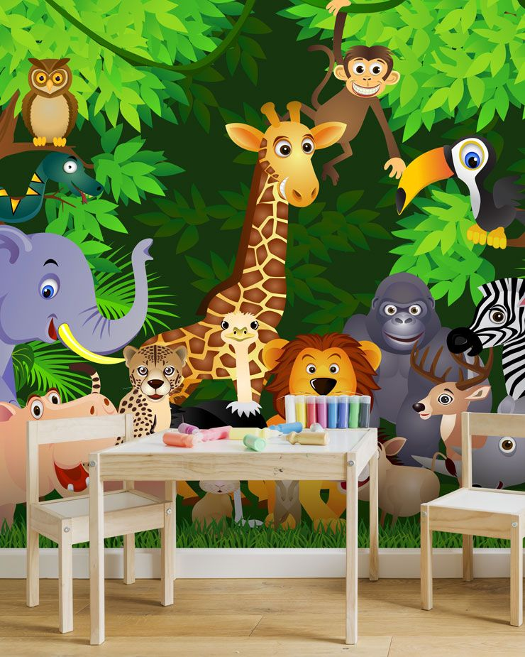 Childrens Playroom Wallpaper