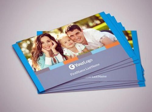 Best Business Card Design For Insurance Agents New Business Card