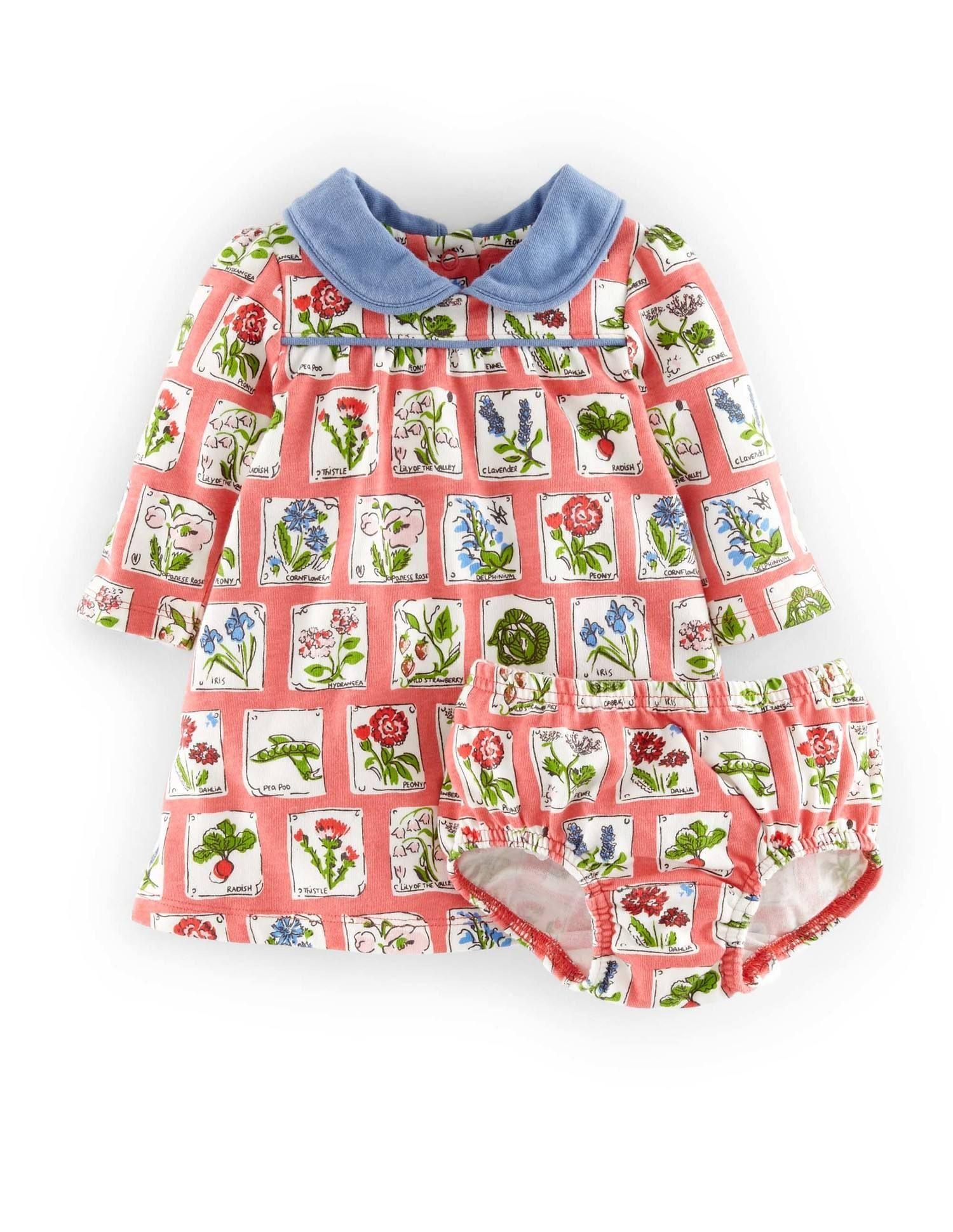 Baby Boden Pretty Collar Jersey Dress
