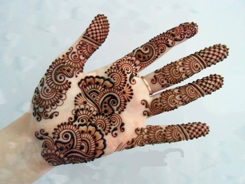 Modern Arabic Mehndi Designs 2014 : Beautiful arabic henna designs for women hint kınası