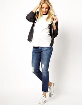 Jumpsuit With Double Layer Halter | Giacche di jeans, Fidanzati e ...