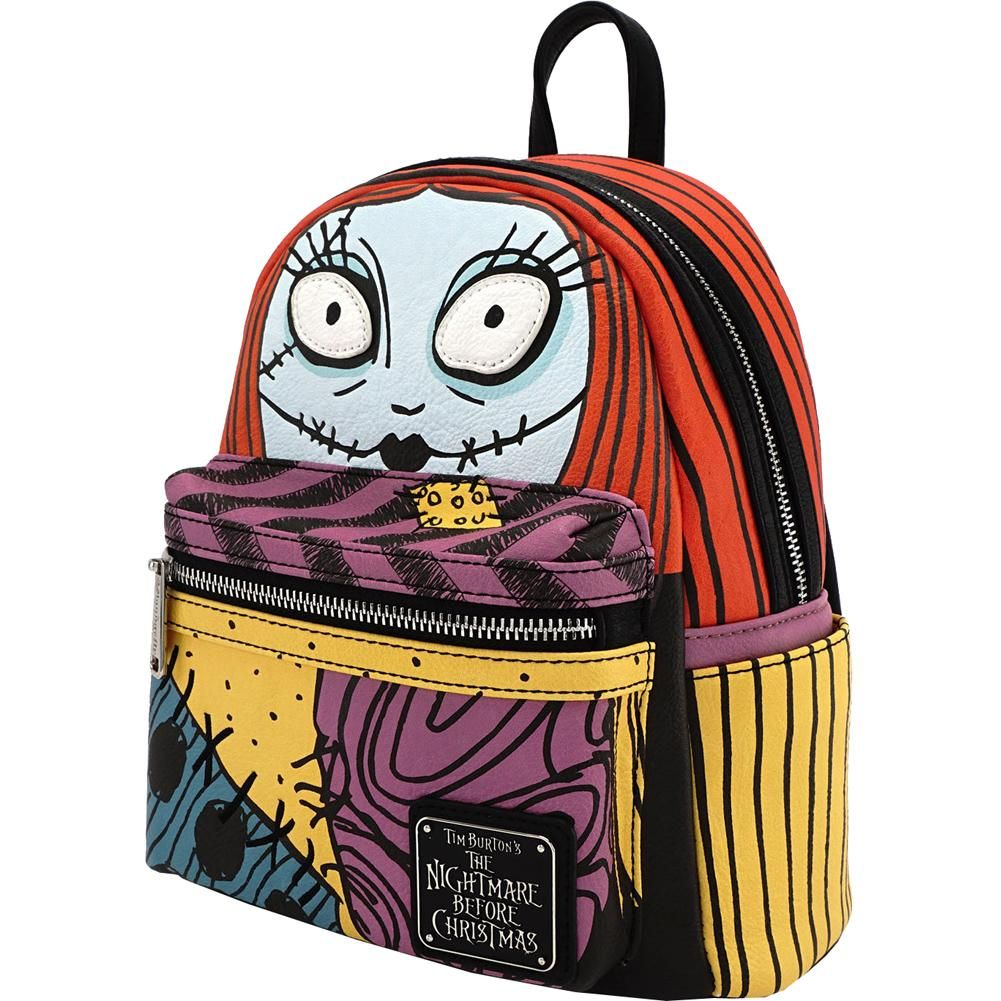 Inked Boutique - Nightmare Before Christmas Sally Face Mini Backpack ...