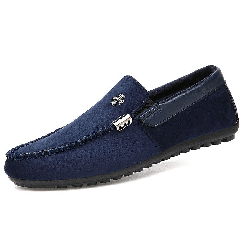 Men Loafers 2015 New Loafer Shoes Sapatenis Slip On Mocassin Shoes For Men  Driver Casual Flats Black Blue Wine Red Size 39 to 44 2852bd254ae0