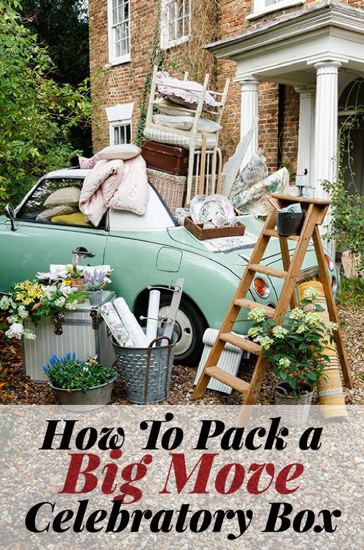 How To Pack a Big Move Celebratory Box | Moving into a new place is exciting once you close the front door, chances are you'll all want a cuppa... but where are the teabags? Be prepared, people!