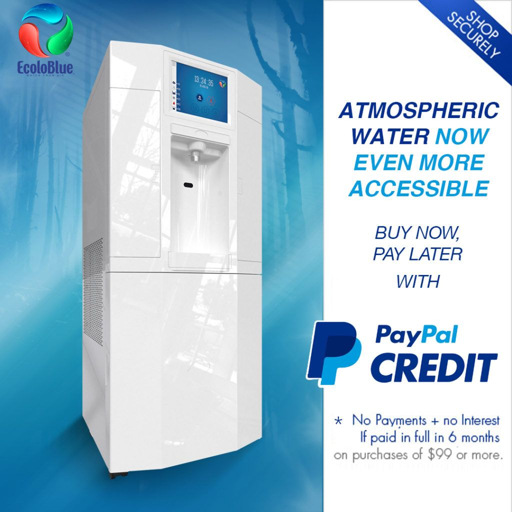 I Just Love The Small Size Of This Atmospheric Water Generator I Have Been Considering Getting An Atmospheric Water Generator Water Solutions Water Generator