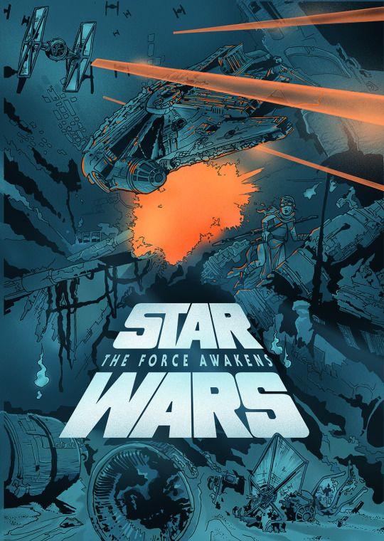 StuffNThings - Star Wars: The Force Awakens by Nils Kaufmann ...