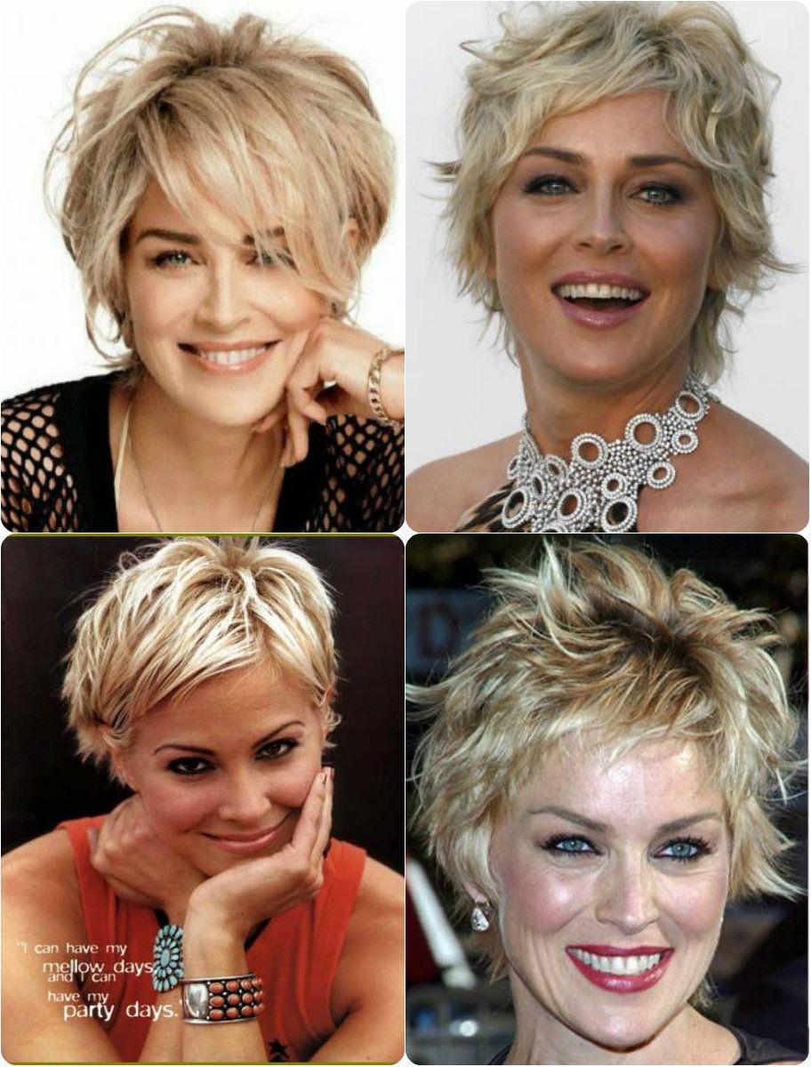 Frisuren Sharon Stone