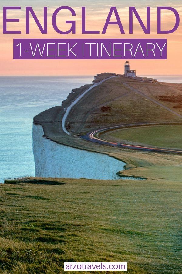 England 7-day itinerary #travelengland