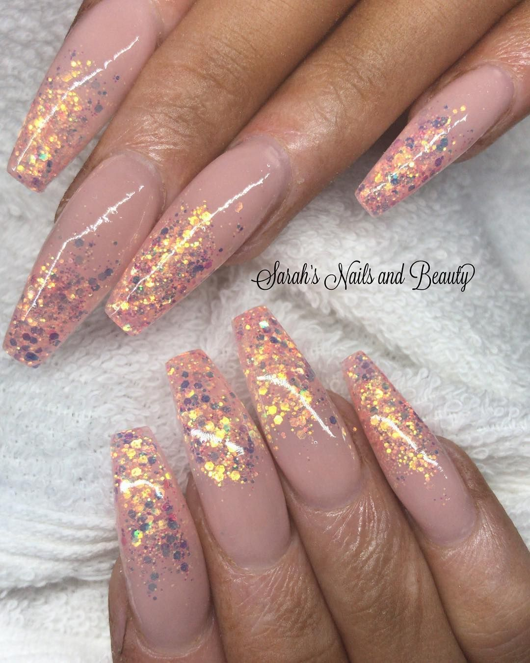 Magpie Beauty On Instagram Magpie Glitter Flora Www Magpiebeauty Co Uk Thank You Sarahnailandbeauty Gel Nails Gel Nail Polish Nail Polish