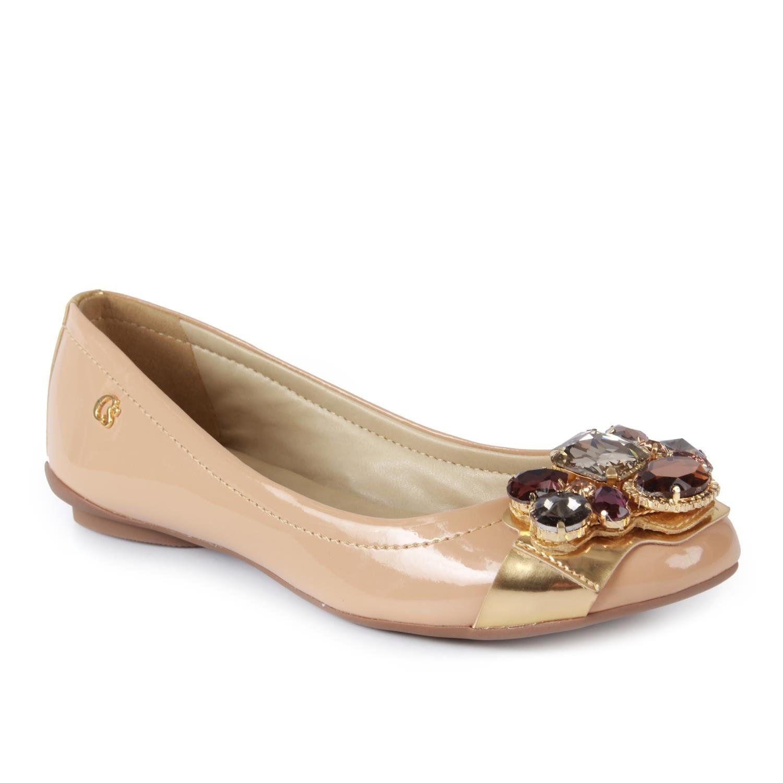 484b48651 Sapatilha Pedraria Carmen Steffens | sapatos carmen stefhani ...