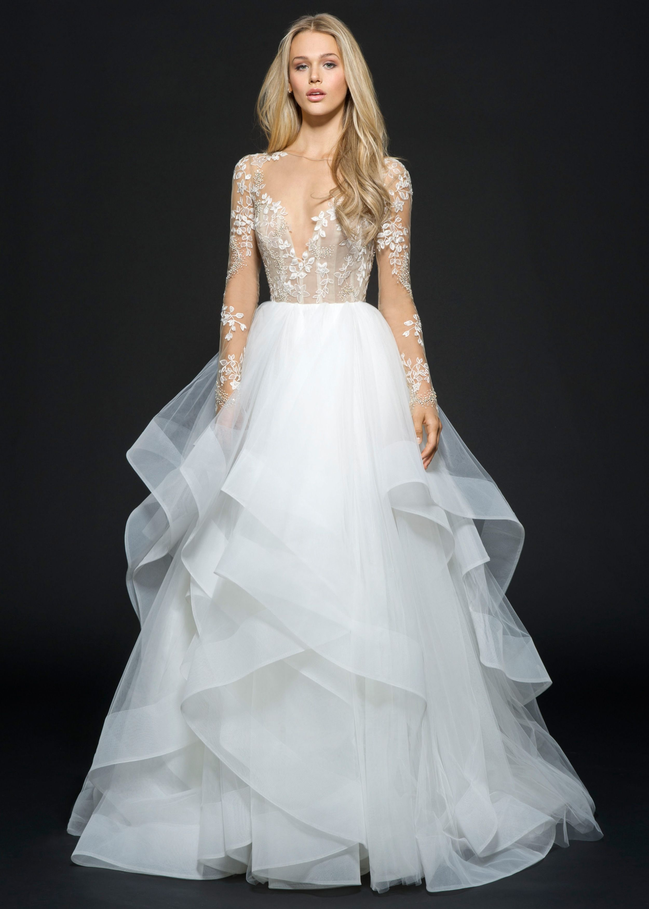 Spectacular Hayley Paige Fall Lorelei bridal gown Bridal Fashion Bridal Gown available