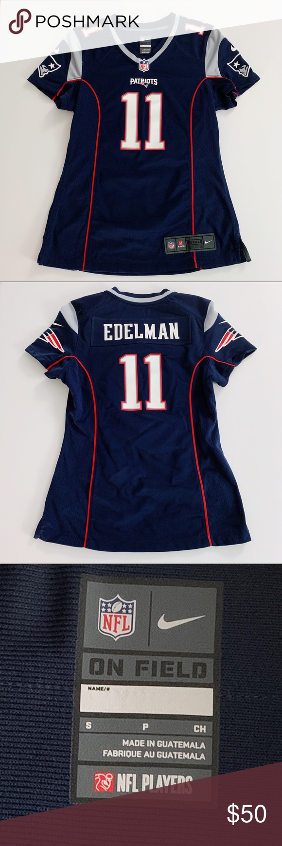 Official Patriots J Edelman 11 Jersey Size Small Official New England Patriots Wide Receiver Julian Edelman 11 Jersey Women S Edelman Patriots Women Shopping